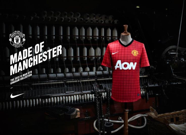 (video) Manchester United 2012/13 Nike Home Kit