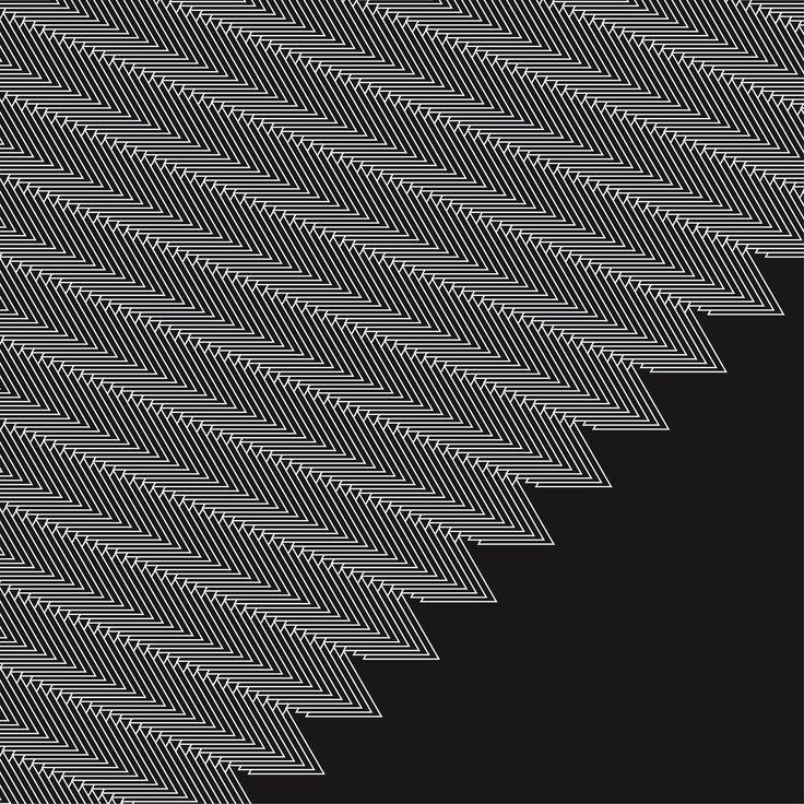 365 triangoli #1forday #graphic #blackandwhite #triangle #pattern #sphirograph # optical #geometric