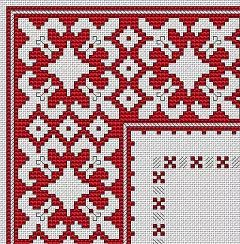 Bulgarian Motif cross stitch pattern