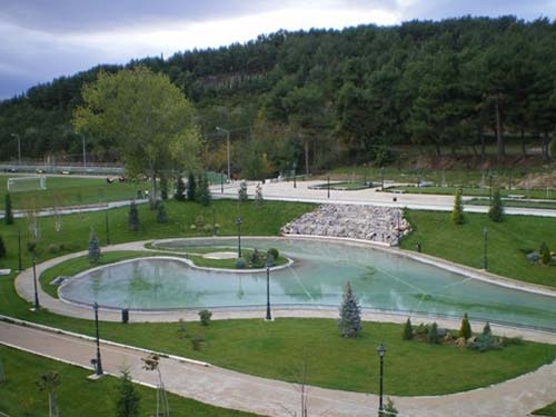 Municipal Garden of Kozani.