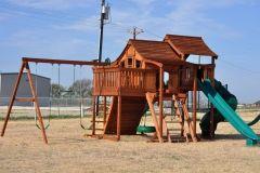 Fort Ranger Fun Deck Lookout Shack Swing Set