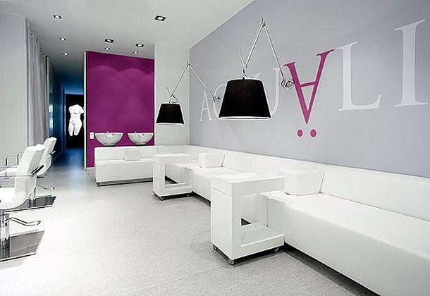 Salon de belleza y spa modernos buscar con google edb for Decoracion en peluquerias