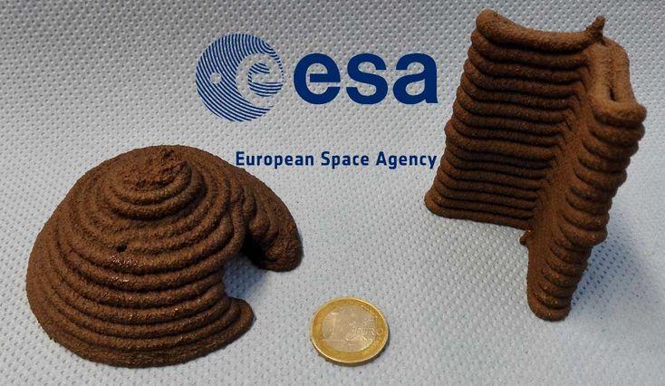 Martian Regolith – 3D printed Mars simulant | ESA