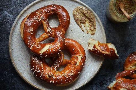 Kublanka vaří doma - Bavorské preclíky