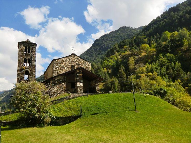 Sant Joan de Caselles Church in Canillo, Andorra