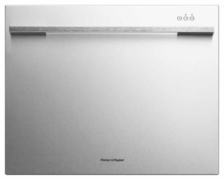 """DishDrawer Tall DD24SDFTX7 24"""" Semi Integrated Single Drawer Dishwasher with 7 Place Settings 9 Wash Cycles Quiet 45 dBA Operation Adjustable Racks and Energy Star Rated in Stainless Steel"""