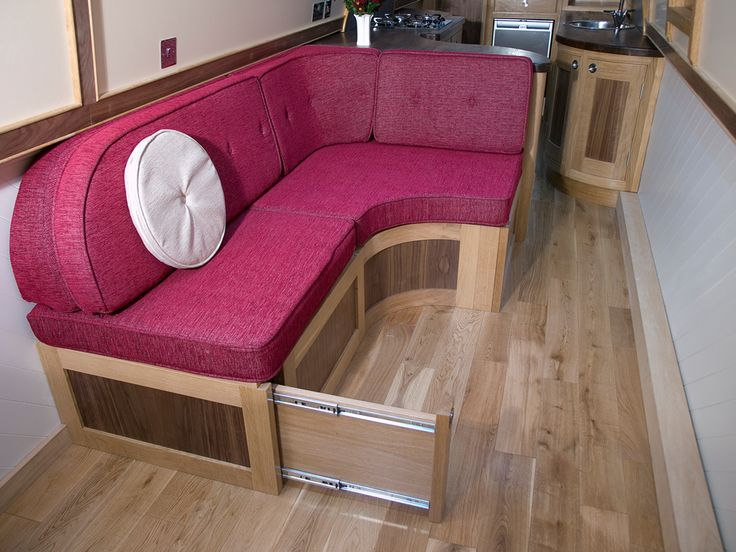 Crick Boat Show photo shoot – high quality images of our narrowboat interior   cumbrianarrowboats. Looks comfortable, I don't do pink!