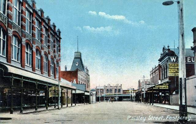 J.T.Collins & I Tour Footscray : Buildings and Architecture - Melbourne, Victorian & Australian Architecture Topics