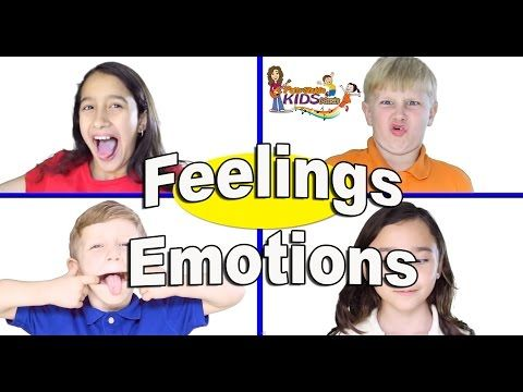"Emotions song for Children, Kids and Toddlers - ""Feelings"" by Patty Shukla - YouTube"