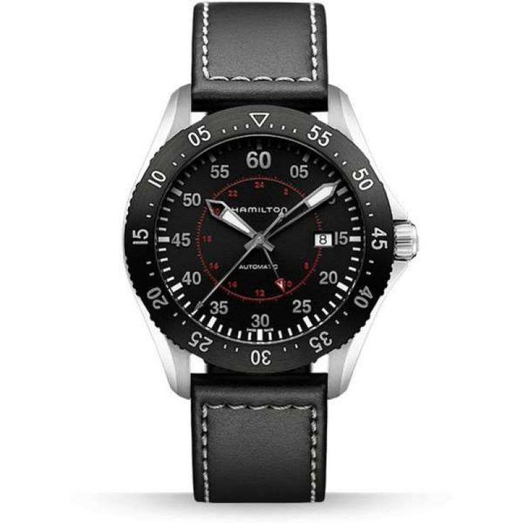 Reloj hamilton hamilton khaki pilot gmt h76755735