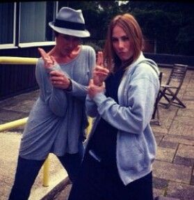 Love it! Amanda Mealing and Rosie Marcel. Xx :-D :-)