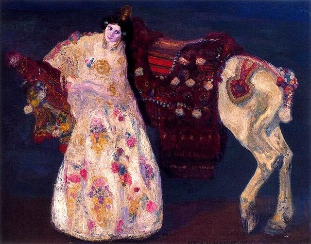 Anglada-Camarasa, Hermen (1871-1959) - 1906 Bride of Benimamet (Museum Reina Sofia, Madrid, Spain) by RasMarley, via Flickr