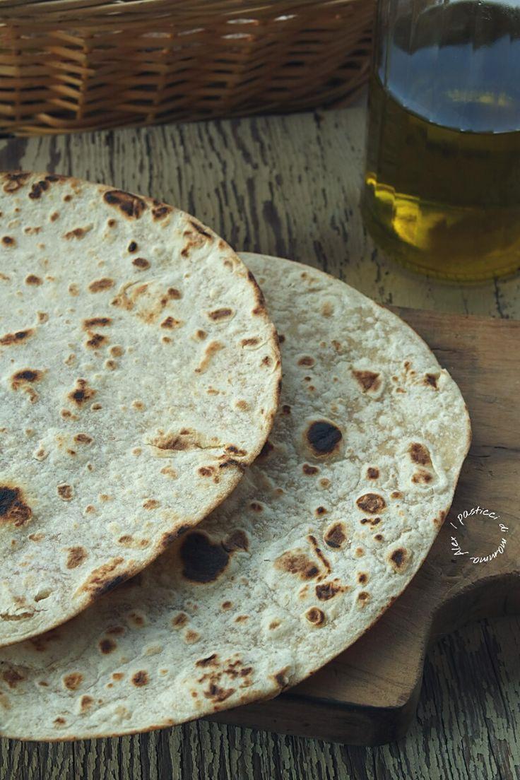 Piadina romagnola senza strutto | I pasticci di mamma Alex