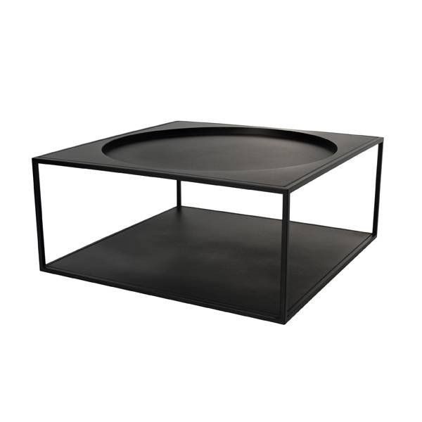 Beautiful HK-Living coffee table. Made of steel with a perfect matt black finish. This coffee table will look great in your Scandinavian home!