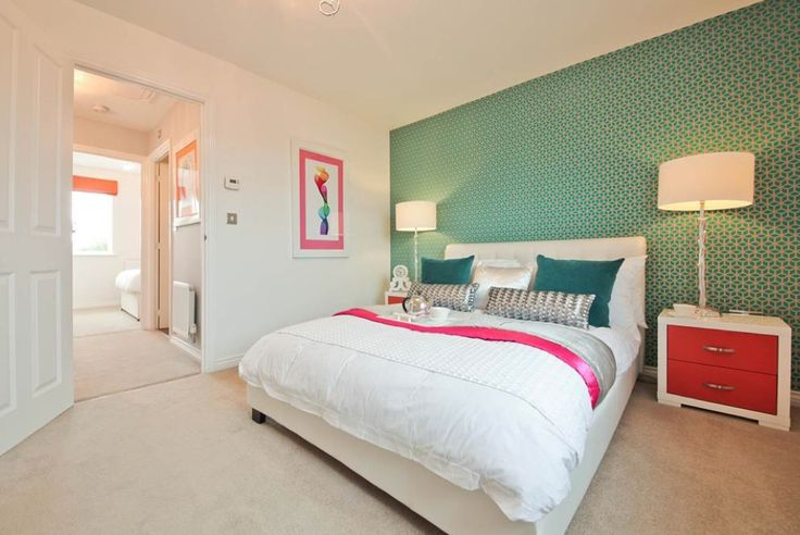 Taylor Wimpey - Orchard Place (Evesham) Interior Designed Bedroom