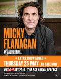 Have you entered yet? We have TWO pairs of tickets to give away to see Micky Flanagan at the SSE Arena Belfast on Thursday 25th May!  Enter now at http://whatsonni.com/competitions