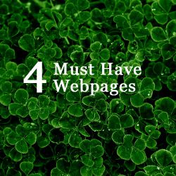 4 Must Have Webpages for Any Photographer