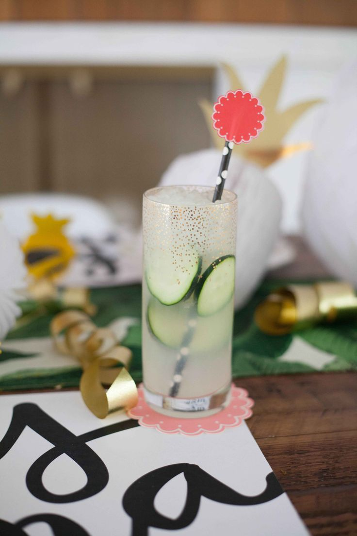 The Alison Show: Mother's Day Brunch: Cucumber Lime Punch