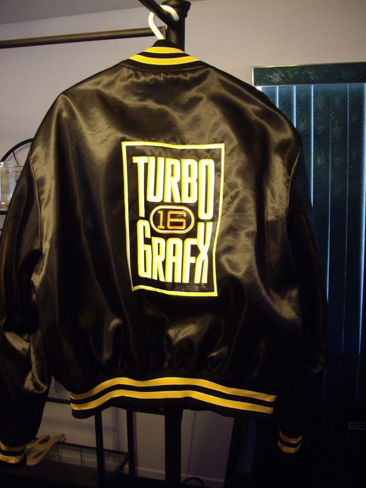 TurboGrafx 16 sports jacket
