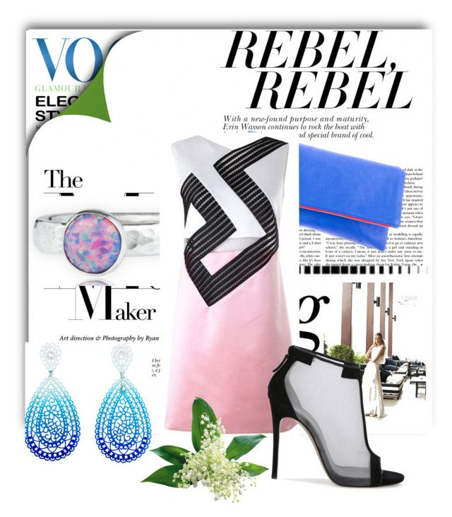 """""""geometrical pink"""" by dianaf-1 on Polyvore"""