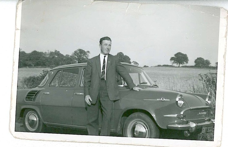 David William Hodgson with Skoda 1000 MB01 (1965)