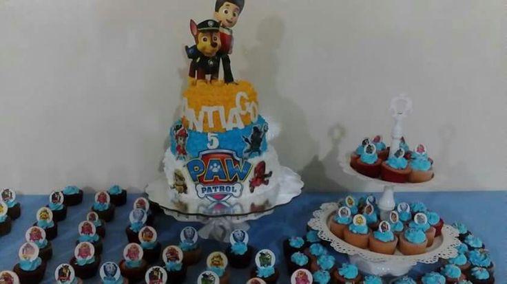 Paw patrol cake betun