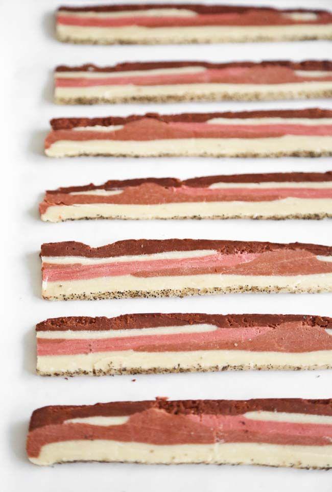 """Sprinkle Bakes: Applewood """"Bacon"""" Shortbread Cookies"""
