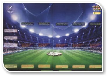 Adrenalyn XL UEFA Champions League 2010-2011 - Game Board