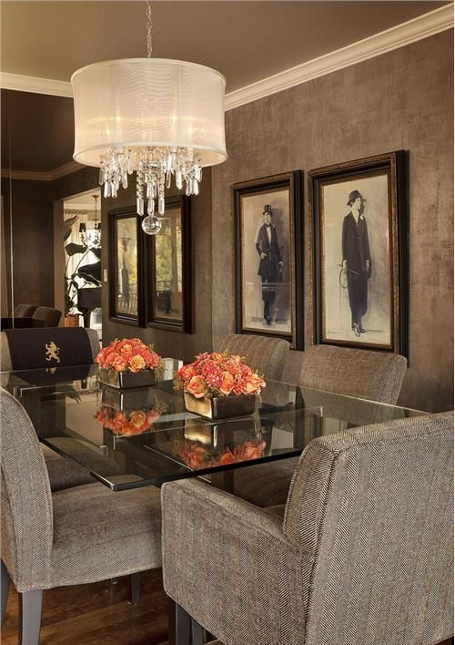 25 best ideas about contemporary dining rooms on for Casual dining room ideas