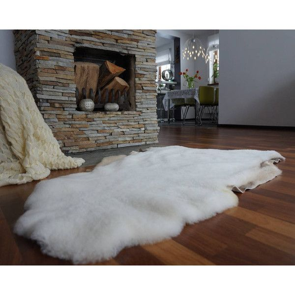 j1 Original Giant Xxl White Genuine Natural Sheepskin Rugs Exclusive... ($75) ❤ liked on Polyvore featuring home, rugs, floor & rugs, grey, home & living, grey sheepskin rug, white area rugs, white sheepskin rug, outdoor area rugs and grey outdoor rug #outdoorsarea