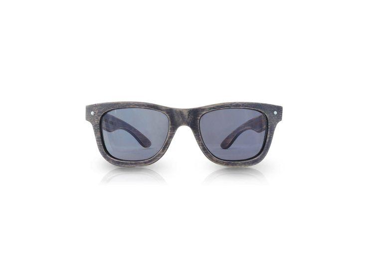 Ecolution Bamboo and Wood - Raleri Sunglasses  Stone Surf Canazei 1139 Cod. 805845019-1139 Gray Coated (Mordente Grigio) Mod. Stone Surf - Bamboo Col. Canazei Lens. Smoked Gray UV400 Polarized + Antiglare