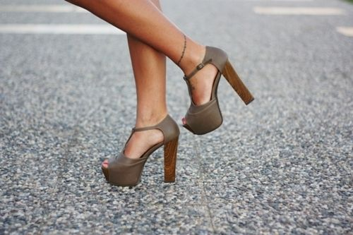 .Anklets Tattoo, Style, Shoes Fashion, Campbell Heels, Jeffrey Campbell, High Heels, Shoes Obsession, Fashion Tattoo, Chunky Heels