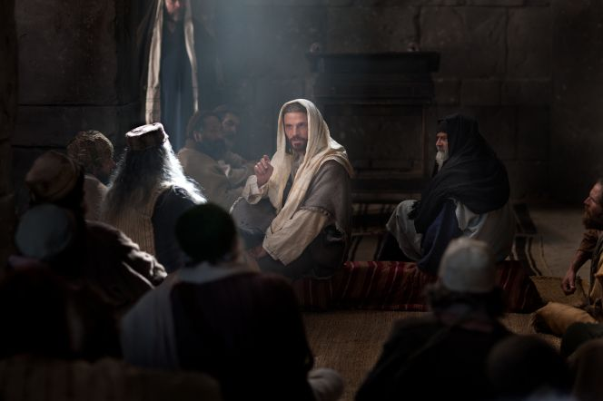 Lucas 4:15–30, Jesús declara que Él es el Mesías