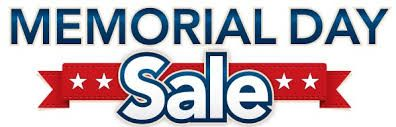 Memorial Day only, May 30, ALL out of contract items will be 75% off. Hurry in! West store location will be open from 10-2 pm.  #memorialday #furniture #sale