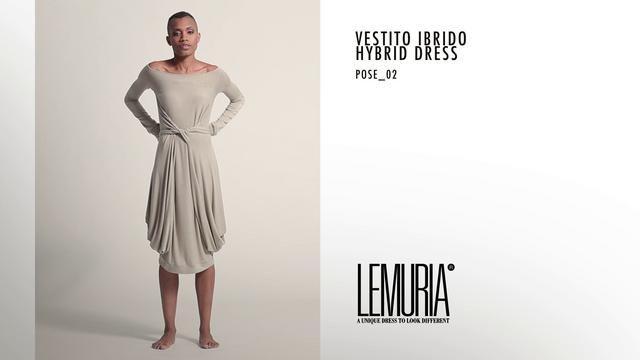 HYBRIDUS DRESS by Lemuria.