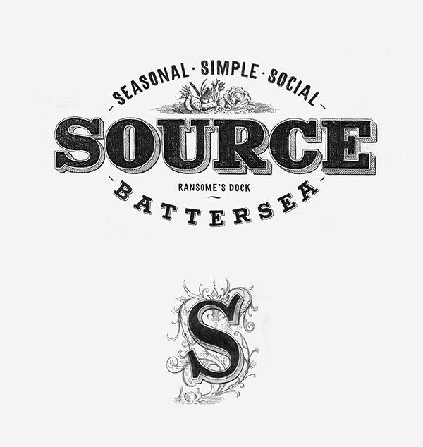 Design Typography Logos