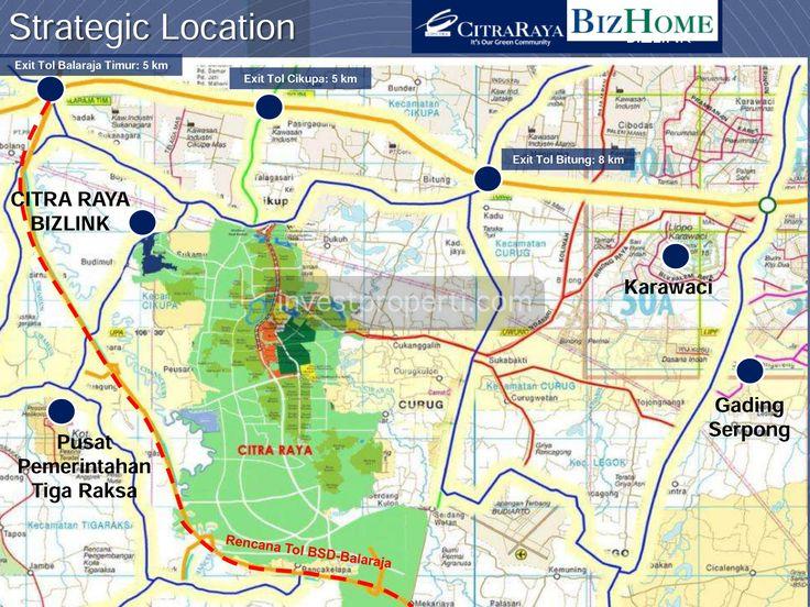 Peta Lokasi Citra Raya BizLink Tangerang #bizlinkcitraraya