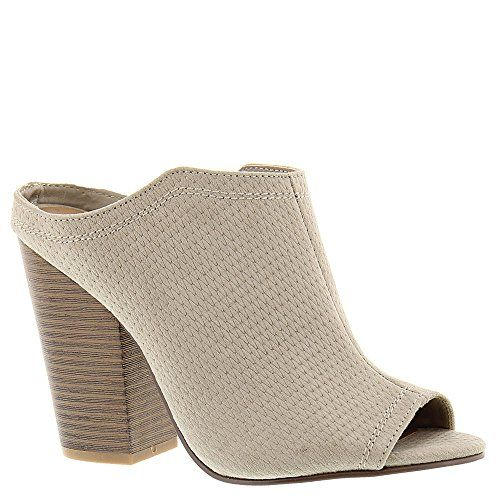 Indigo Rd Infinty Taupe Fabric Womens Slide Size 95M *** Click image to  review
