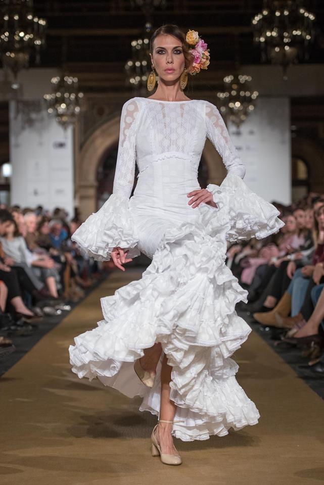 2017 Carmen Acedo #vestido #modaflamenca #wlf17 #sevilla