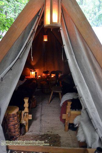 Lampe außen ans Zelt?
