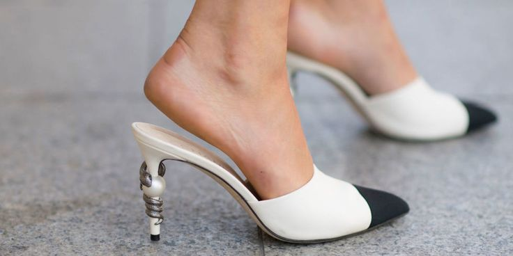 STRAPLESS CHANEL ~ This Little Chanel Shoe Won Fashion Month