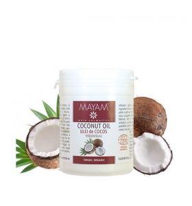 Ulei de cocos bio, virgin 100 gr Mayam