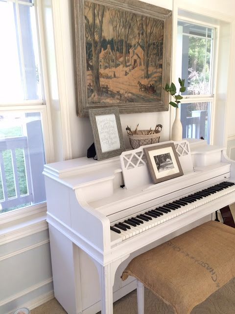 Little Farmstead: Painting a Piano...