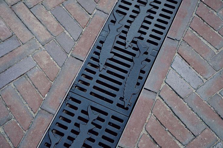 Grille Caniveau design  Grille de drainage ACO