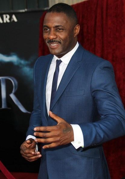 Idris Elba in Ozwald Boateng