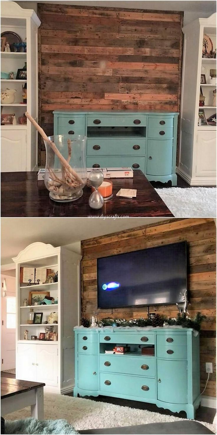 Cool Ideas with Recycled Wood Pallets (With images) | Wood ...