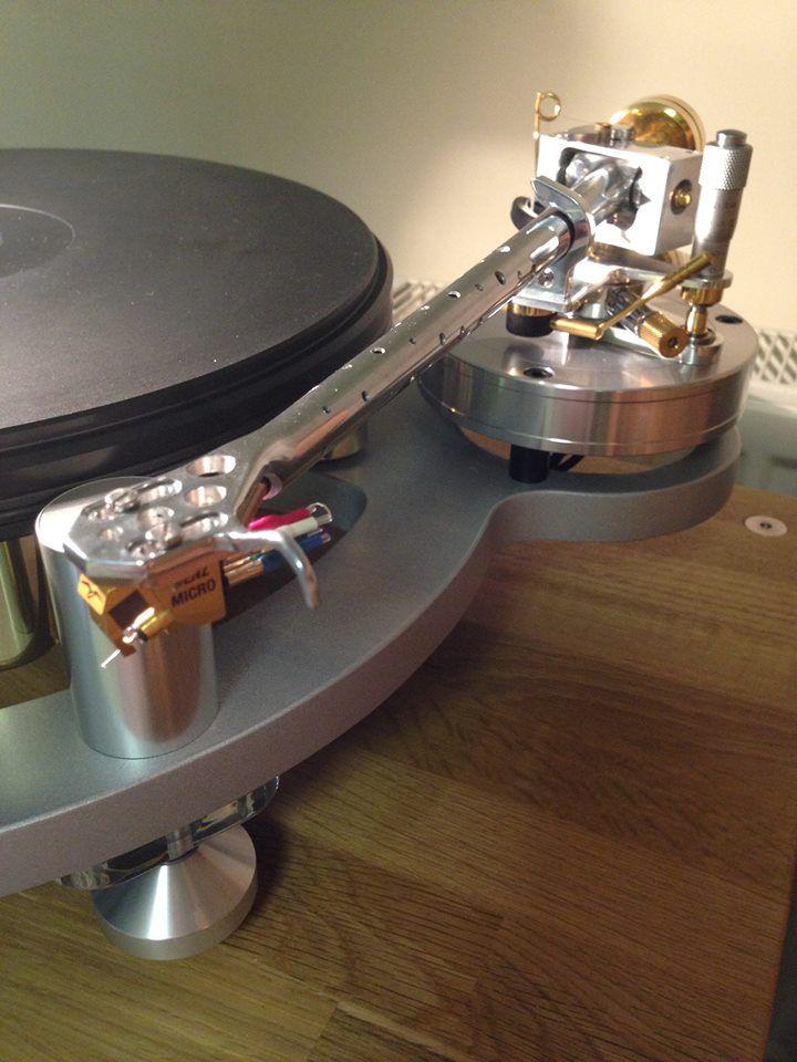 Michell Gyro Deck Audiomods Custom Tone Arm Benz Micro Sl