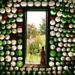 04 Taberna con botellas de vidrio - Casas con botellas Construcciones ecologicas