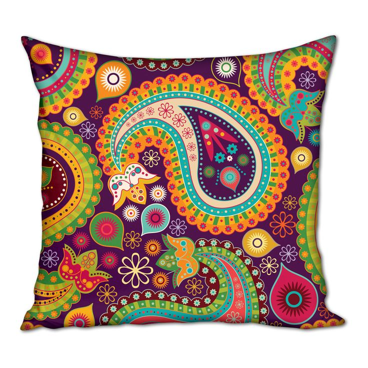 Multicolor Pillows | 41 x 41 x 5cm | Living Design Cushion Covers @ POP♥•♥•♥