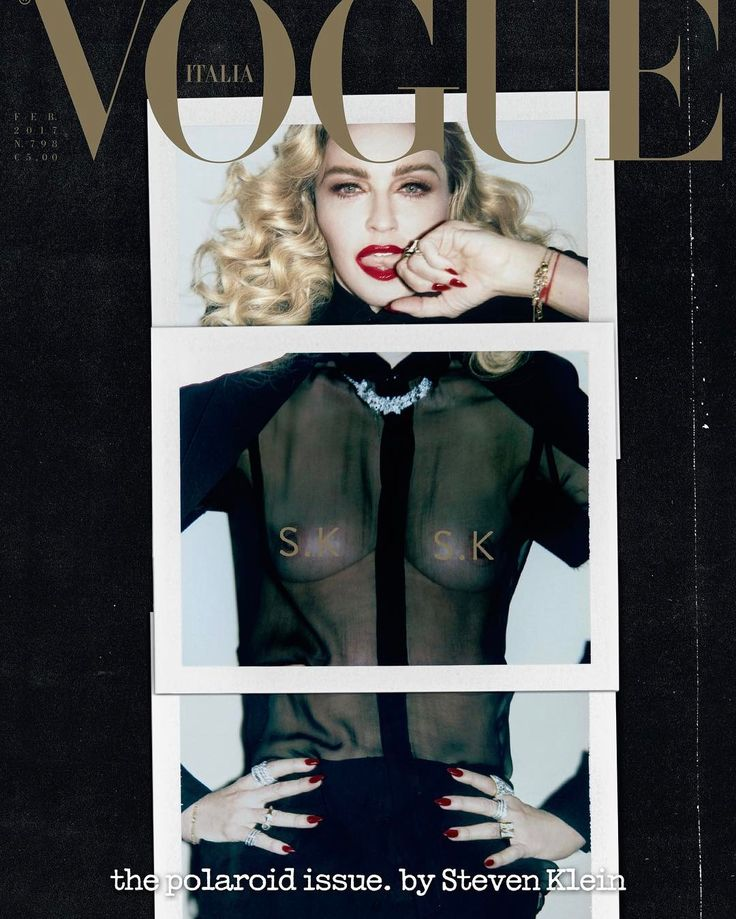Madonna almost naked!